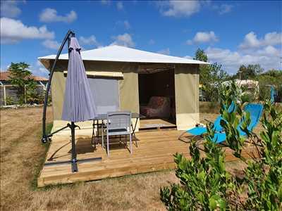 Exemple camping familial n°57 zone Vendée par SAS LES CHAGNELLES