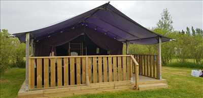 Exemple camping familial n°61 zone Vendée par SAS LES CHAGNELLES