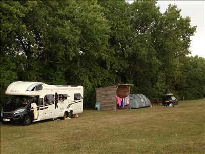 Exemple camping familial n°73 zone Charentes par Chez Sarrazin Gites et Camping